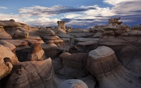 Bisti De-Na-Zin Wilderness wallpaper 1920x1200 jpg