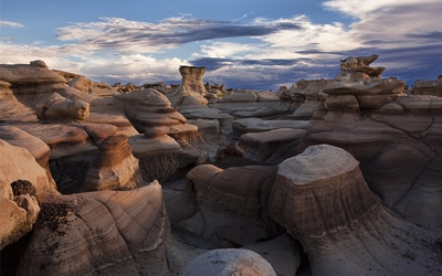 Bisti De-Na-Zin Wilderness wallpaper