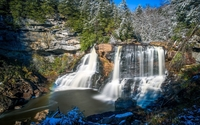 Blackwater Falls State Park wallpaper 1920x1200 jpg