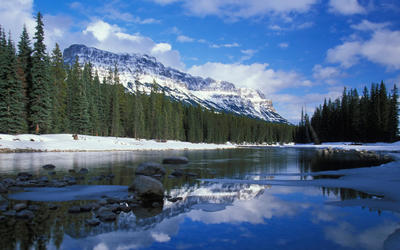 Bow River wallpaper