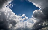 Break in the clouds wallpaper 2880x1800 jpg
