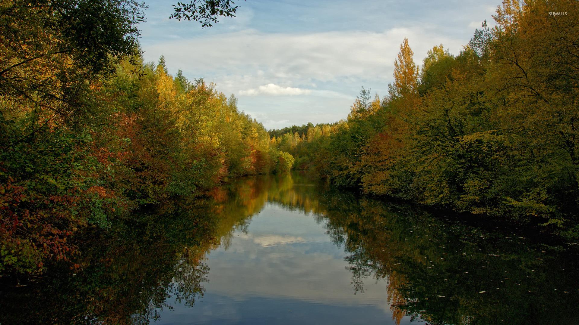 autumn nature river - photo #46