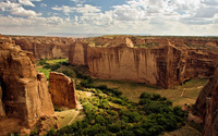 Canyon de Chelly National Monument wallpaper 1920x1200 jpg
