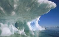 Caves in an iceberg [2] wallpaper 1920x1080 jpg