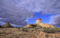 Chambers Pillar Historical Reserve wallpaper 1920x1200 jpg