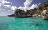 Clear water of the Atlantic Ocean - Dominican Republic wallpaper 2560x1600 jpg