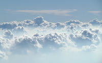 Clouds in the sky wallpaper 2560x1600 jpg