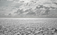 Clouds over the frozen tundra wallpaper 3840x2160 jpg