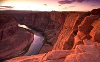 Colorado river through the Grand Canyon wallpaper 2560x1600 jpg
