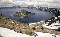 Crater Lake National Park wallpaper 1920x1200 jpg