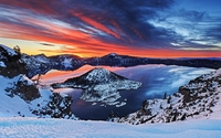 Crater Lake National Park [2] wallpaper 1920x1200 jpg