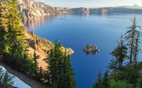 Crater lake, Oregon wallpaper 3840x2160 jpg