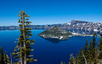 Crater Lake, USA wallpaper 1920x1200 jpg