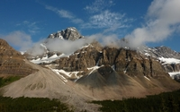 Crowfoot Mountain wallpaper 1920x1200 jpg