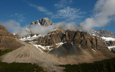 Crowfoot Mountain wallpaper