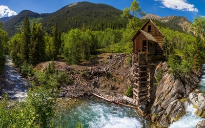 Crystal Mill wallpaper