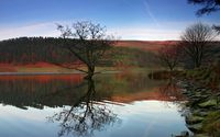 Derwent Reservoir wallpaper 1920x1200 jpg