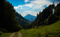 Dirt road by Kernhof wallpaper 2560x1600 jpg