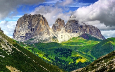 Dolomites wallpaper
