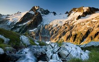 Dome Peak, Glacier Peak Wilderness wallpaper 1920x1200 jpg