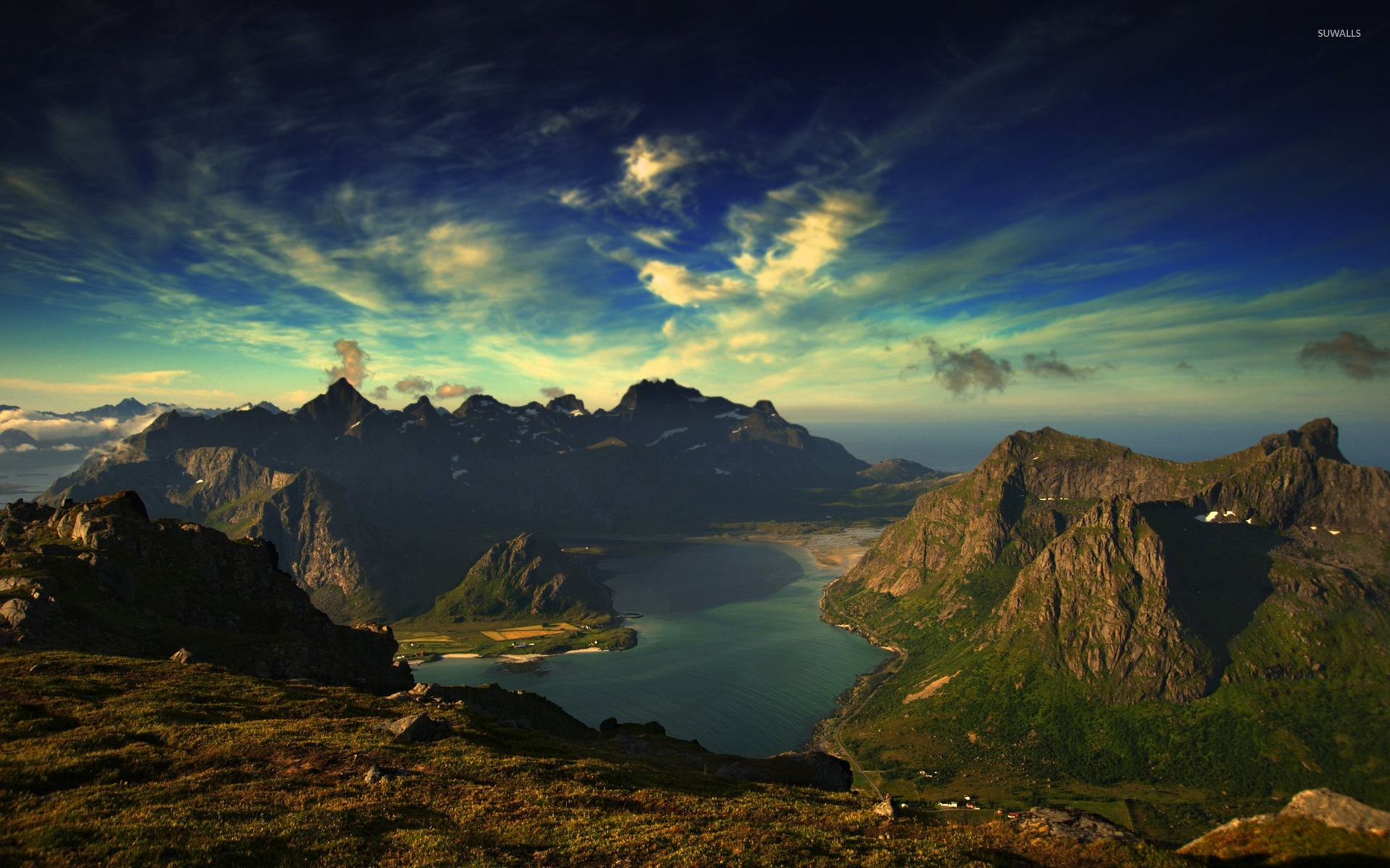 Flakstad, Norway wallpaper