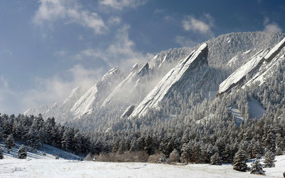 Flatirons wallpaper