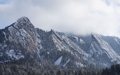 Flatirons, Colorado [2] wallpaper