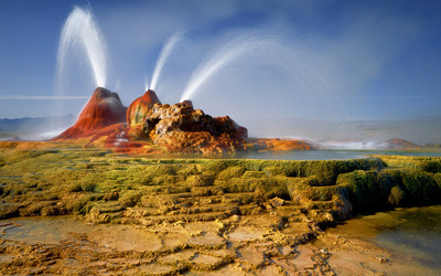 Fly Geyser [2] wallpaper