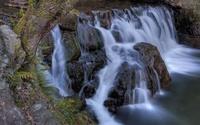 Foamy waterfall [3] wallpaper 2560x1600 jpg