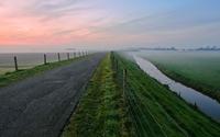 Foggy horizon wallpaper 1920x1200 jpg