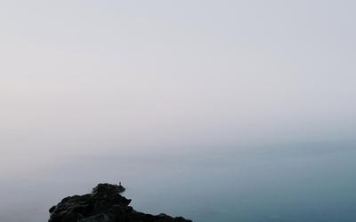 Foggy horizon [2] wallpaper