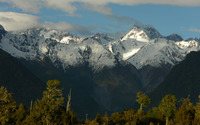 Fox Glacier, New Zealand wallpaper 2880x1800 jpg