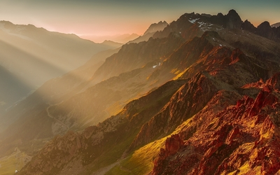 French Alps wallpaper