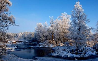 Frozen river [2] wallpaper