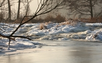 Frozen river [4] wallpaper 2560x1600 jpg