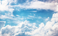 Fuzzy clouds wallpaper 2560x1440 jpg