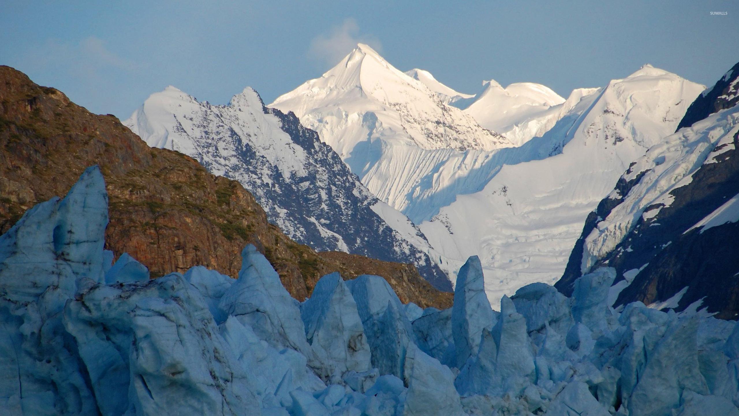 glacier bay national park and preserve alaska wallpaper