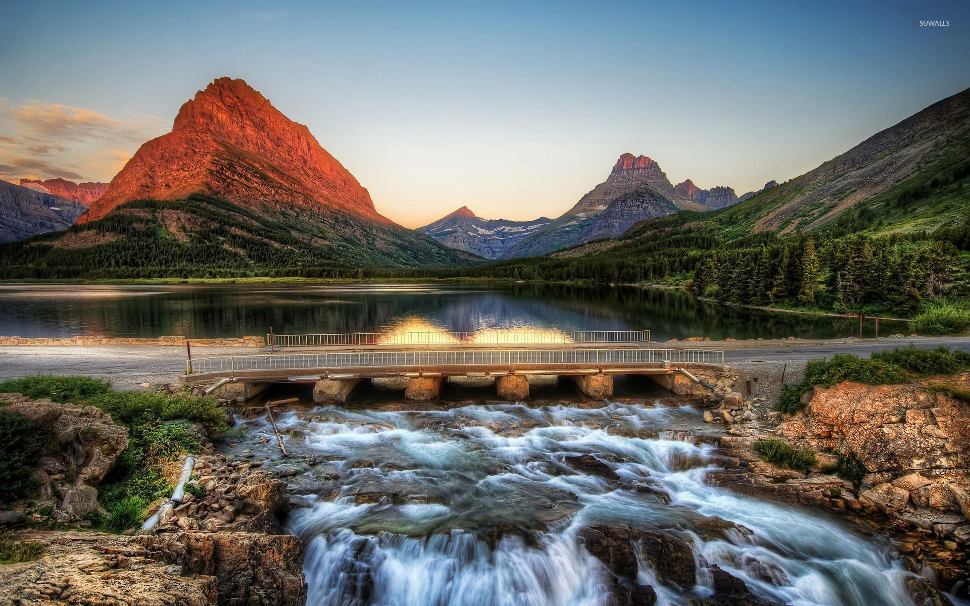 Glacier National Park 2 Wallpaper Nature Wallpapers 9827