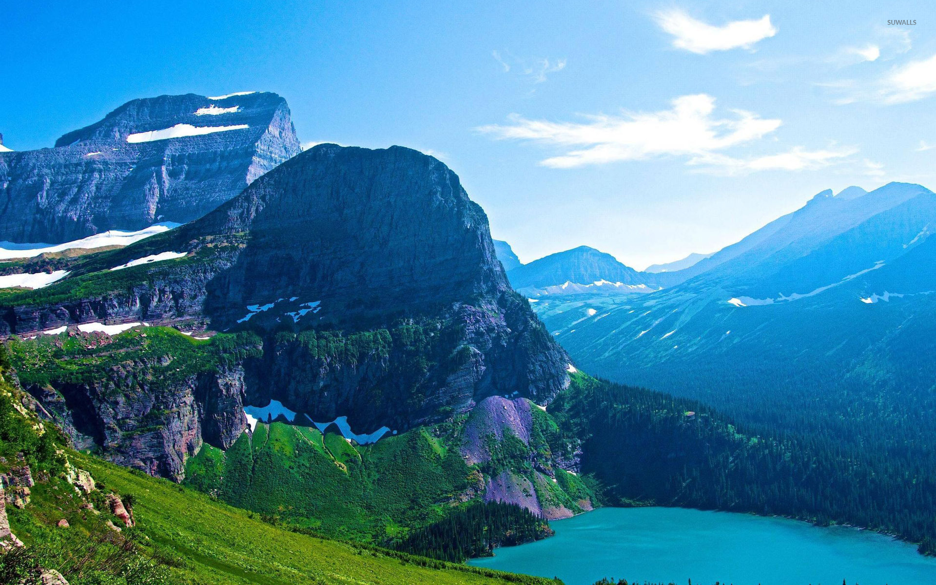Glacier National Park Montana Wallpaper Nature Wallpapers