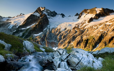 Glacier Peak Wilderness wallpaper