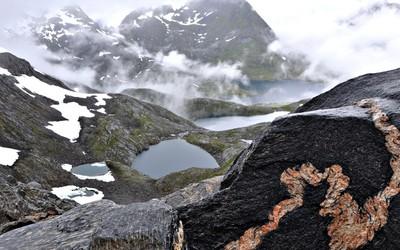 Glaciers in Norway wallpaper