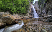 Glen Ellis Falls in New Hampshire wallpaper 2880x1800 jpg