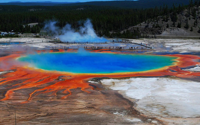 Grand Prismatic Spring [2] wallpaper