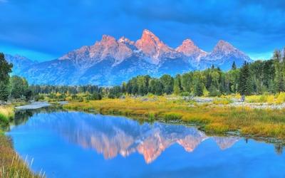Grand Teton National Park [7] wallpaper