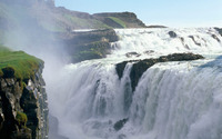 Gullfoss wallpaper 1920x1200 jpg