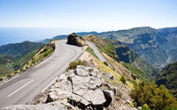 Hairpin turn in the mountains wallpaper 2560x1600 jpg