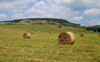 Hay bales [2] wallpaper 2880x1800 jpg