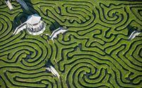 Hedge maze wallpaper 2880x1800 jpg