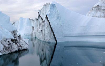Ice caps wallpaper