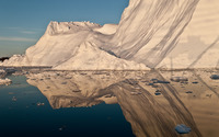 Iceberg in Greenland wallpaper 2880x1800 jpg